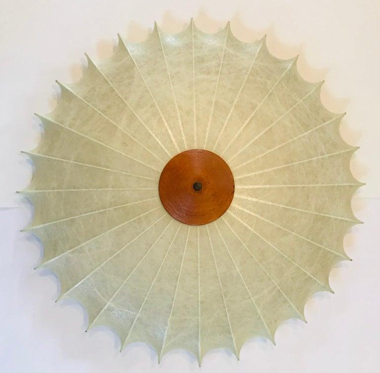 Achille Castiglioni 1960s Italian Flush Ceiling Light For Sale 3