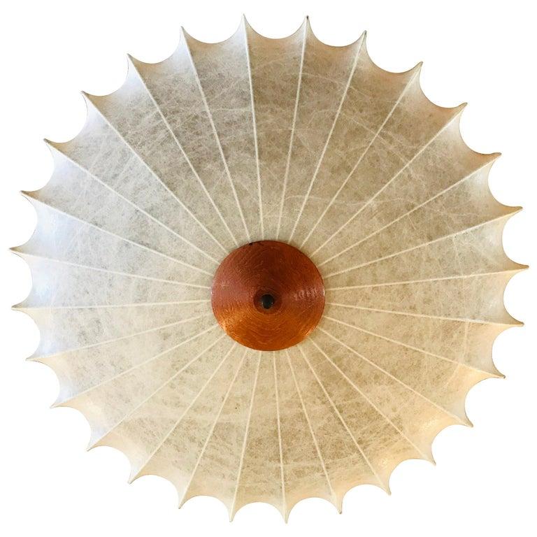 Achille Castiglioni 1960s Italian Flush Ceiling Light For Sale