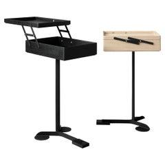 Achille Castiglioni and Giancarlo Pozzi Set of Two 'Comodo' Wood Cabinets