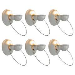 Achille Castiglioni for Flos Wall Lamps Model 'Bi Bip'