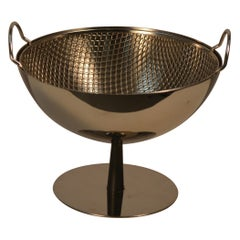Achille Castiglioni Fruit Bowl with Strainer Designed for Alessi, Italy