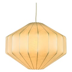 Achille Castiglioni Losange Cocoon Pendant Lamp, 1960s, Italy