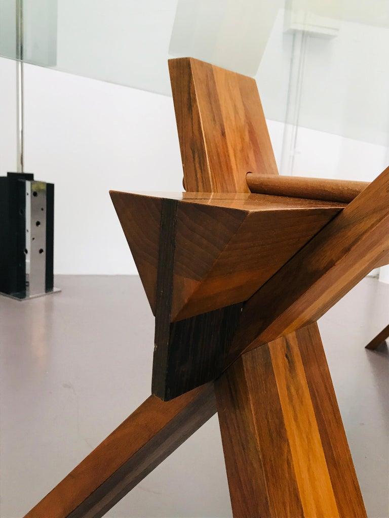 Piana Table Designed by Alfredo Simonit & Giorgio del Piero for Bross For Sale 3
