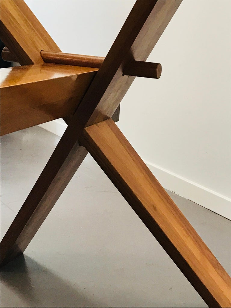 Piana Table Designed by Alfredo Simonit & Giorgio del Piero for Bross For Sale 7