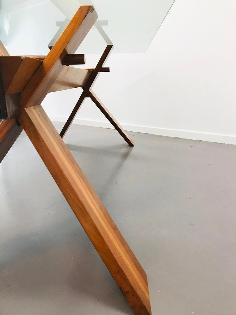 Piana Table Designed by Alfredo Simonit & Giorgio del Piero for Bross For Sale 8