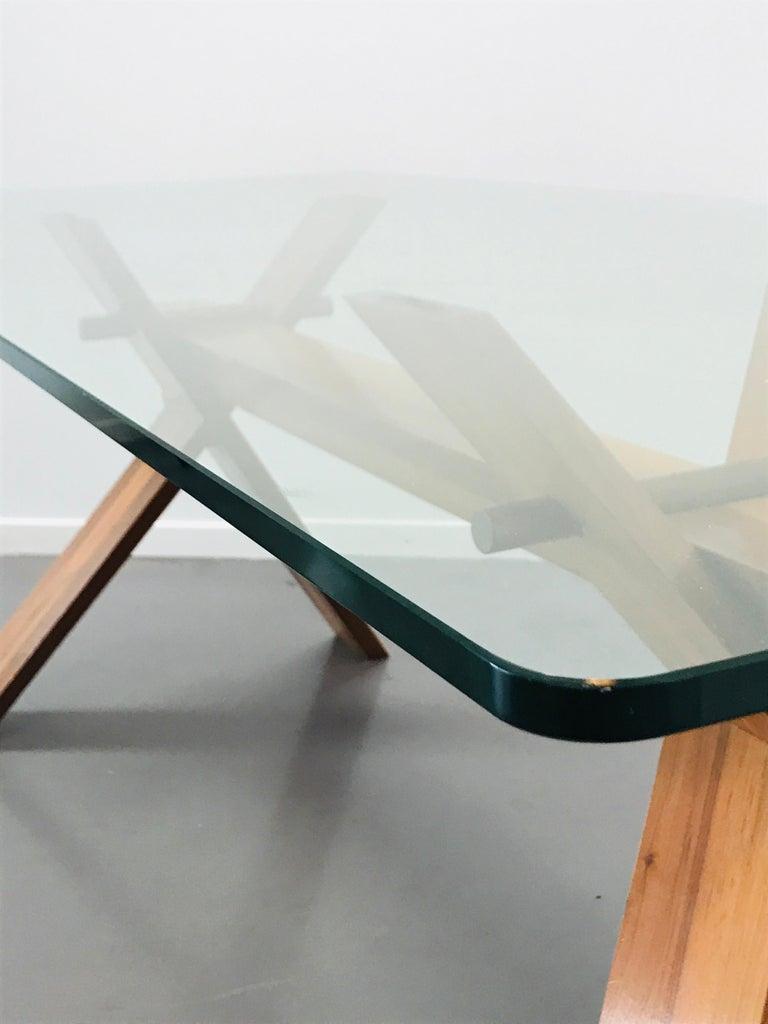 Piana Table Designed by Alfredo Simonit & Giorgio del Piero for Bross For Sale 11