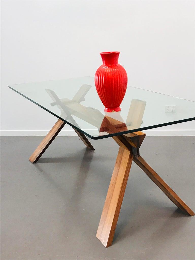 Piana Table Designed by Alfredo Simonit & Giorgio del Piero for Bross For Sale 12