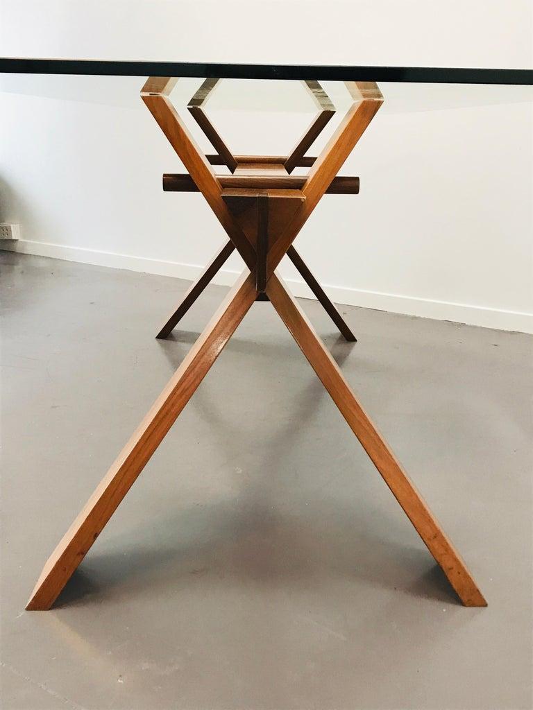 Piana Table Designed by Alfredo Simonit & Giorgio del Piero for Bross In Good Condition For Sale In Byron Bay, NSW