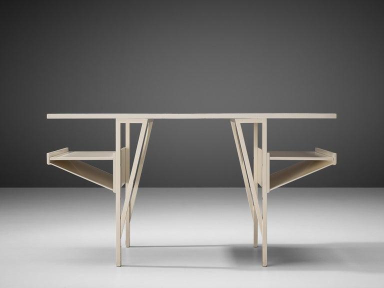 Achille Castiglioni & Paolo Ferrari Desk 'Quark' in Wood For Sale 1