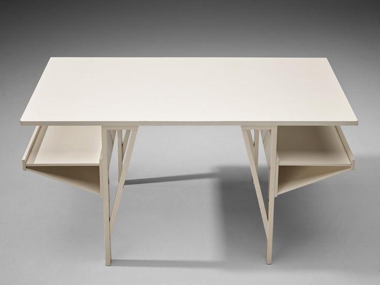 Achille Castiglioni & Paolo Ferrari Desk 'Quark' in Wood For Sale 2
