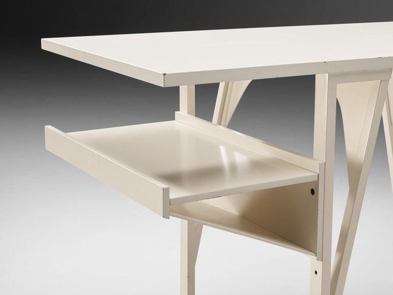 Achille Castiglioni & Paolo Ferrari Desk 'Quark' in Wood For Sale 3