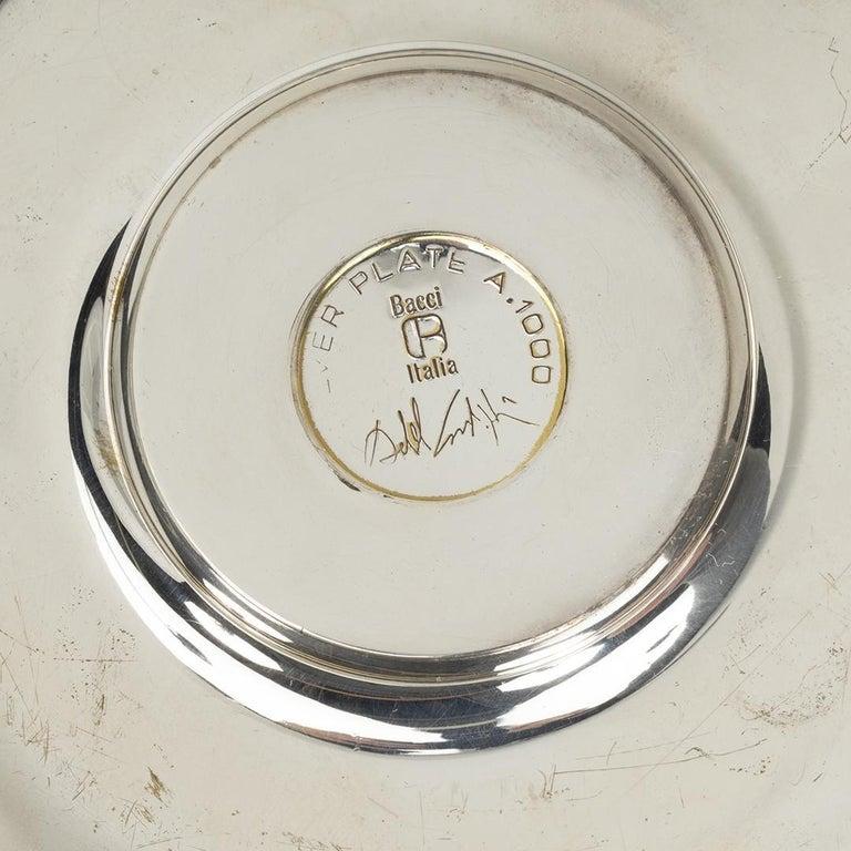 Italian Achille Castiglioni Silver Plated