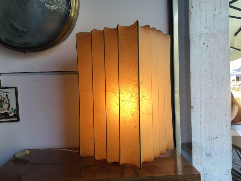 Achille Castiglioni Table Lamp 1965 Cocoon, Italy In Excellent Condition In Milano, IT