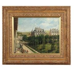 "Achille Ernest Mouret '19th Century' French, ""Villa Beausejour"", 1840-1860"