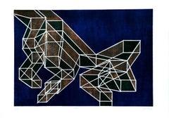 Ratio - Original Lithograph by Achille Perilli - 1970 ca.