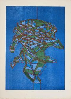 Rosole - Original Etching by A. Perilli - 1969