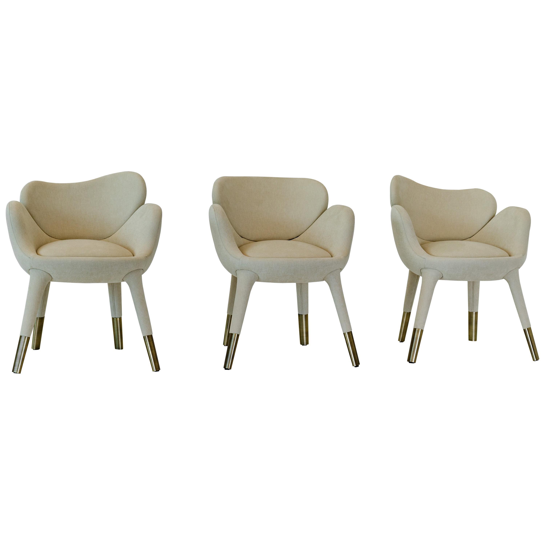 "Achille Salvagni, ""Frangipani"" Armchair, Upholstery, Contemporary"