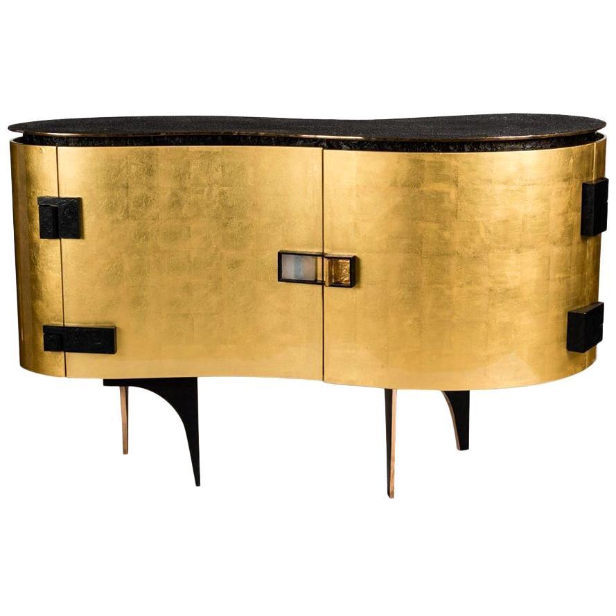 "Achille Salvagni, ""Silk Gold,"" Cabinet, Italy, 2015"
