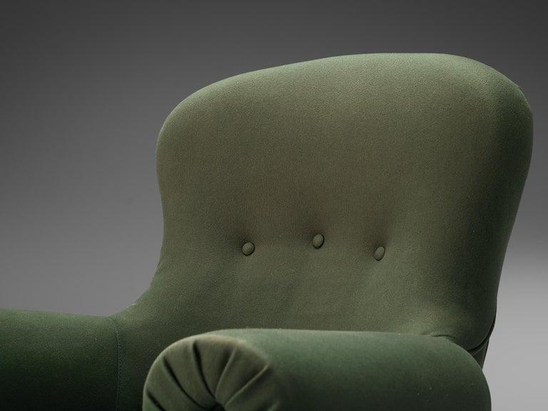 Achilli, Brigidini & Canella Pair of 'Quadrifoglio' Lounge Chairs For Sale 3