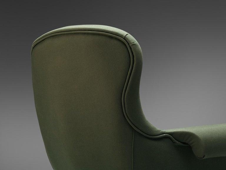 Fabric Achilli, Brigidini & Canella Pair of 'Quadrifoglio' Lounge Chairs For Sale
