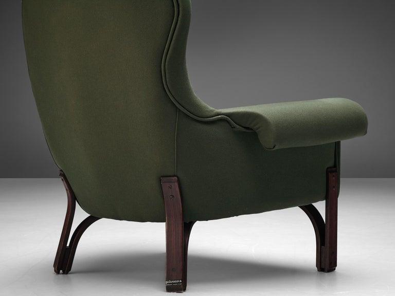 Achilli, Brigidini & Canella Pair of 'Quadrifoglio' Lounge Chairs For Sale 2