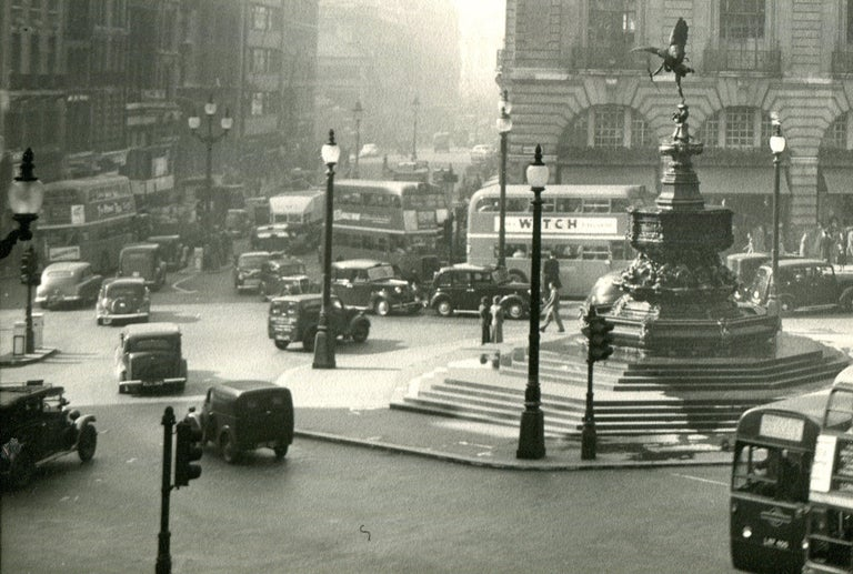 Piccadilly Circus - Photograph by Ack (Jock) Ware