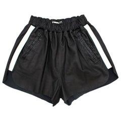 Acne Studios Maia Leather Shorts 36