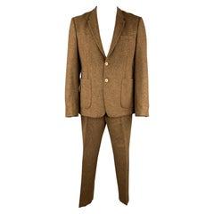 ACNE STUDIOS Size 44 Brown Tweed Wool Blend Nautical 36 31 Suit