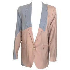 ACNE two-tone blazer