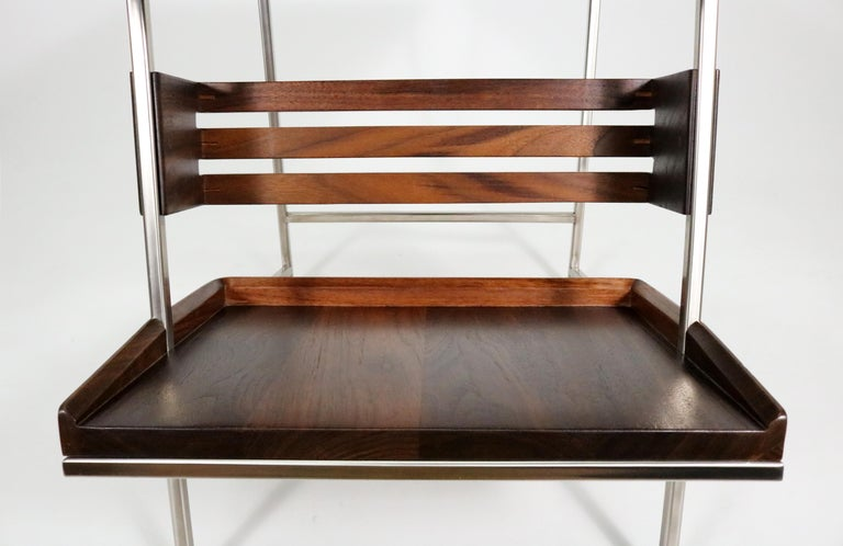 'Acolyte' Side Table with Book Display Shelf by Alexander Giray For Sale 2