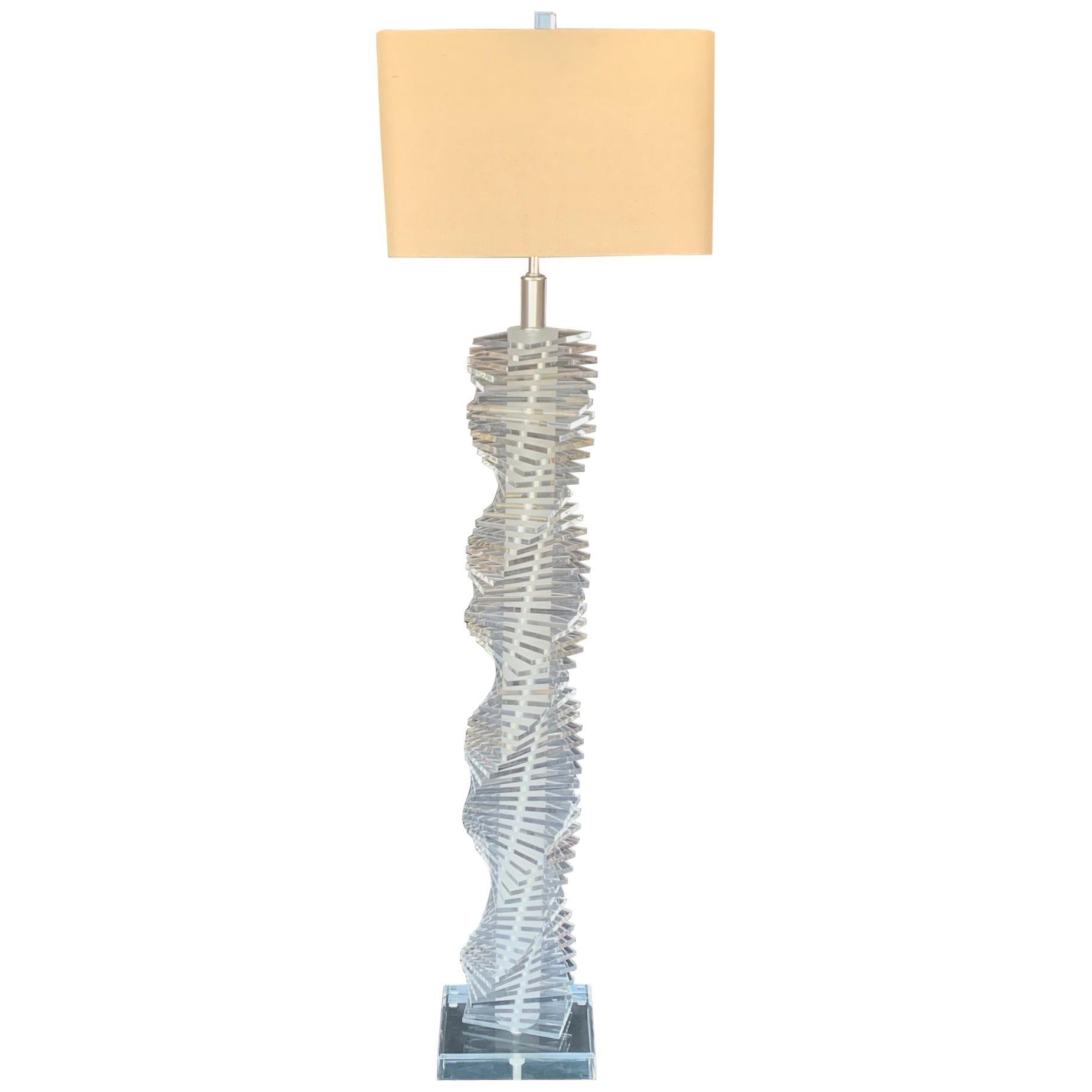 Acrylic Floor Lamp
