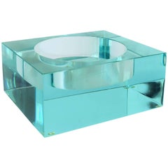 Acrylic Glass Bowl or Vide-Poche Catchall