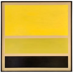 Acrylic on Board Trio of Yellow by Darren Ransdell Design