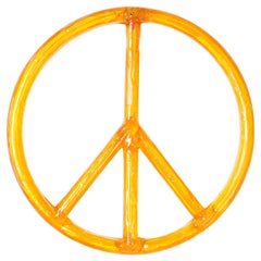 Acrylic Peace Sign