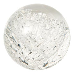 Acrylic Sphere Sculpture, Resin, Lucite