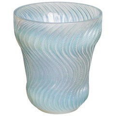 """Actinia' by René Lalique Opalescent Glass Vase"