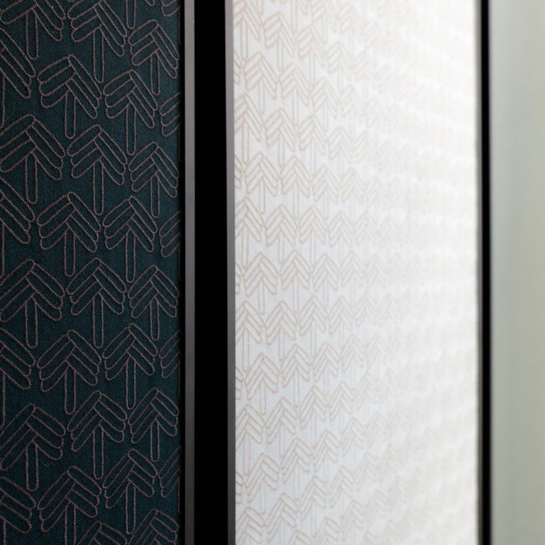 Minimalist Acustica, Opus 2, Noise Cancelling Acoustic Panel, Black Frame For Sale