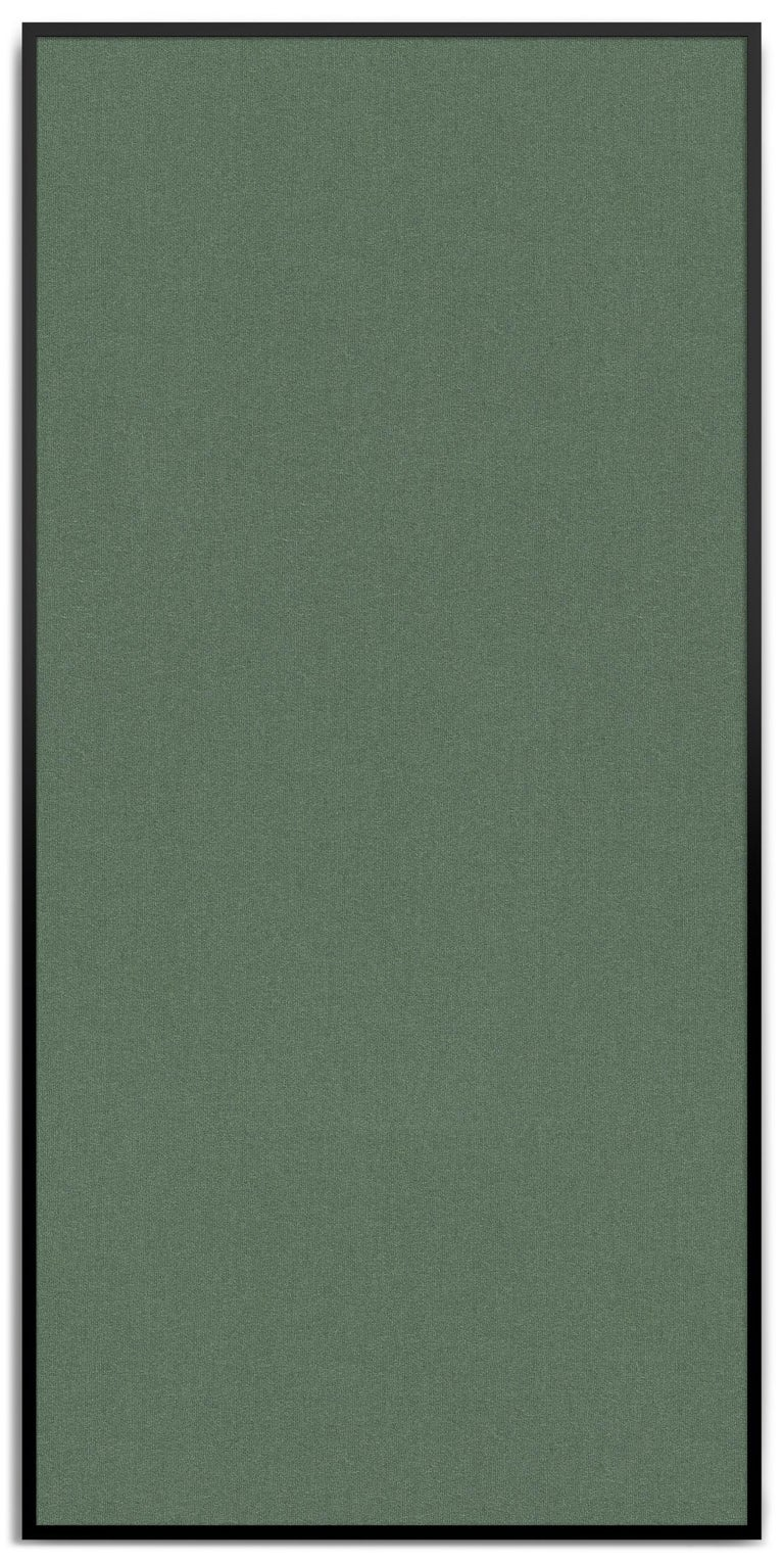Wool Acustica, Opus 2, Noise Cancelling Acoustic Panel, Black Frame For Sale