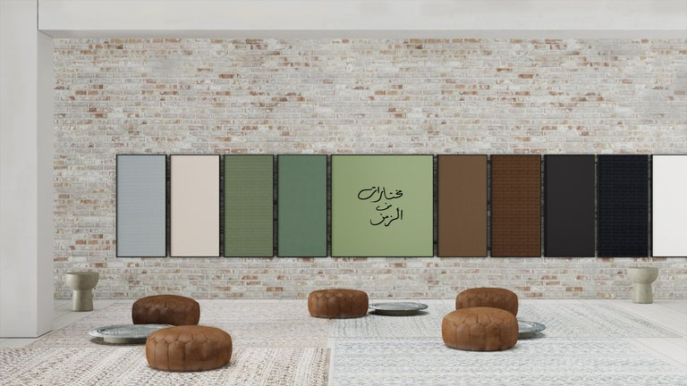 Acustica opus 2 offers a select assortment of 8 cool pastel and earth tones from designs developed by Japanese fashion designer Akira Minagawa. The collection features a mixture of patterns with embroidered nature motifs and nuanced base