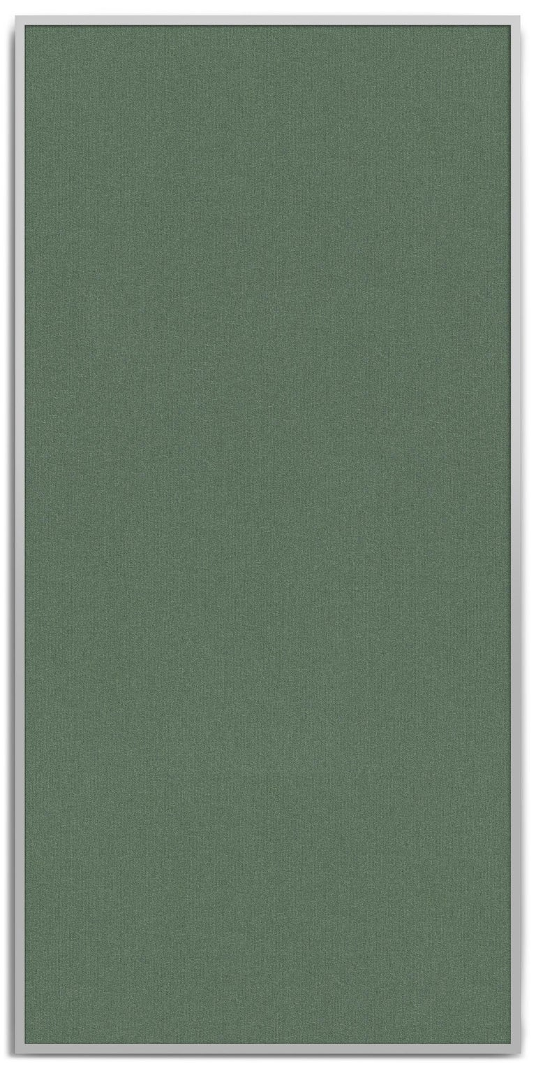 Wool Acustica, Opus 2, Noise Cancelling Acoustic Panel, Grey Frame For Sale