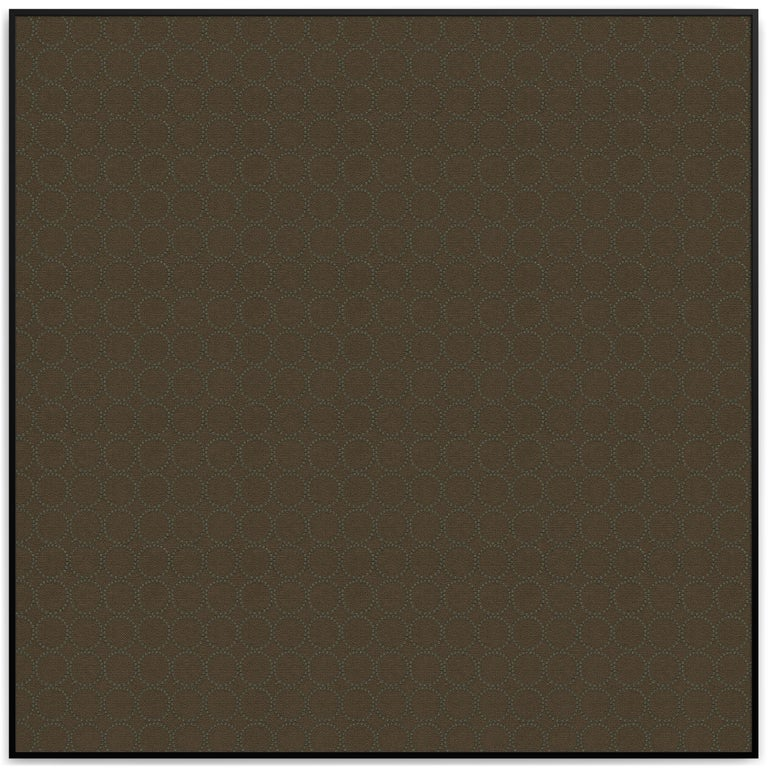 Art Deco Acustica, Opus 4, Noise Cancelling Acoustic Panel, Black Frame For Sale