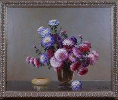 {Floral Still Life of Dahlias}