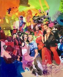 Smile by Ada Lungu Contemporary 21st Century European Artist Oil Paint