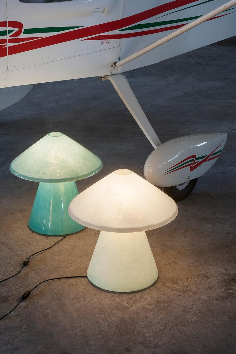A.D.A Lamp C in Shiny Fiberglass by Umberto Riva In New Condition For Sale In New York, NY