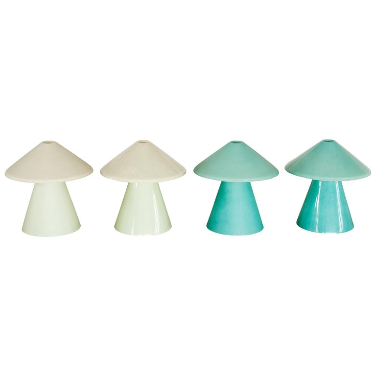 A.D.A Lamp D in Matte Fiberglass by Umberto Riva For Sale