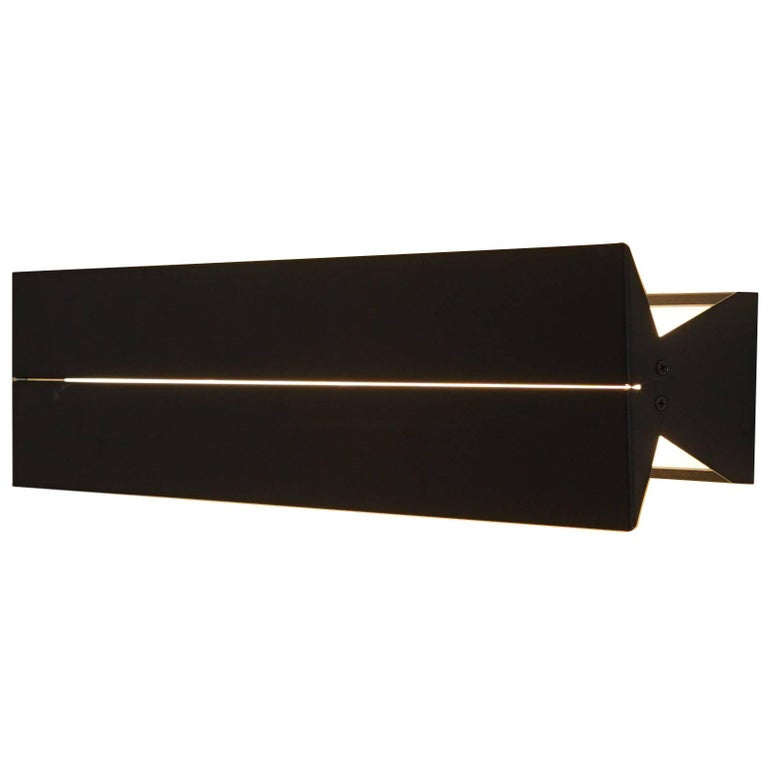 Outdoor Rated Ada Sconce 25 Black by Brendan Ravenhill For Sale