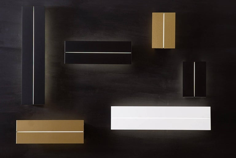 Contemporary Outdoor Rated Ada Sconce 25 Black by Brendan Ravenhill For Sale