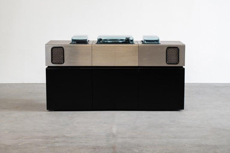 Post-Modern Adalberto dal Lago Batman Stereophonic Hi-Fi Bar for Giuseppe Rossi, 1970 For Sale