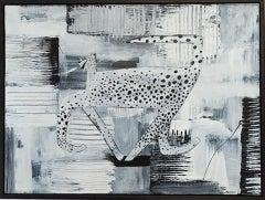 Adam Bartlett, Solo Dance, Contemporary Art, Mixed Media Art