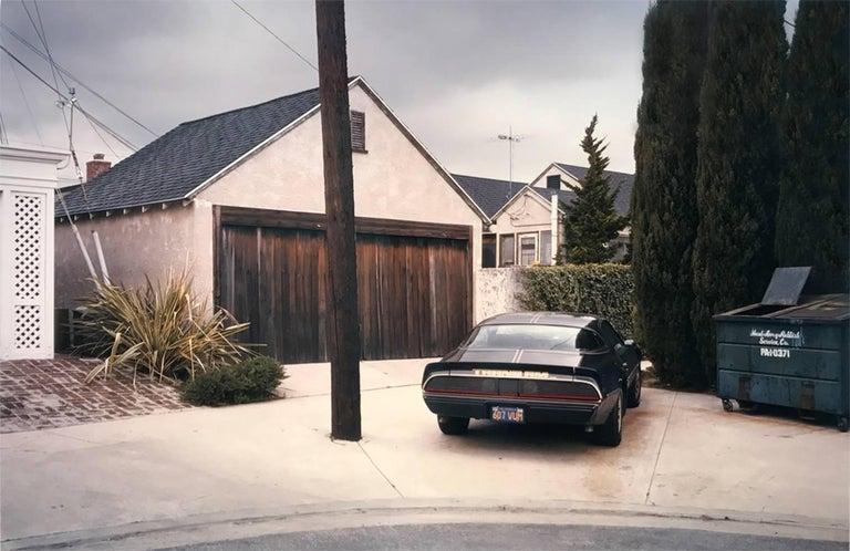 Adam Bartos Landscape Photograph - West Los Angeles (Black Trans Am)